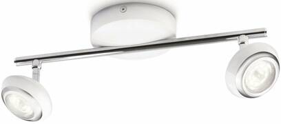 Светильник точечный Sepia bar/tube LED white 2x4W Selv Philips 57172/31/16