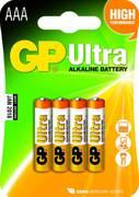 Батарейка GP Ultra 1.5V AAA-LR03 4шт