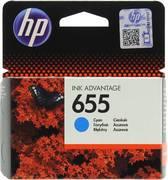Картридж HP 655 CZ110AE BHK Голубой