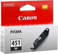 Картридж Canon CLI-451BK Черный