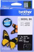 Картридж Brother LC669XL BK Черный