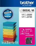 Картридж Brother LC665XL M Пурпурный