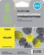 Картридж Cactus CS-CZ112AE 655 Желтый