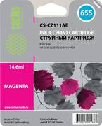 Картридж Cactus CS-CZ111AE 655 Пурпурный