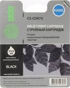 Картридж Cactus CS-CD975 920XL Черный