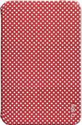 """Чехол (книжка) для планшета 7"""" SBS 184621 Samsung Galaxy Tab 3 Красный в белый горошек"""