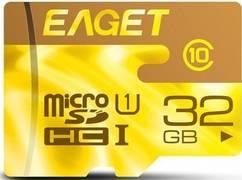 Карта памяти Eaget F2 microSDHC 32Gb Class 10 UHS-I